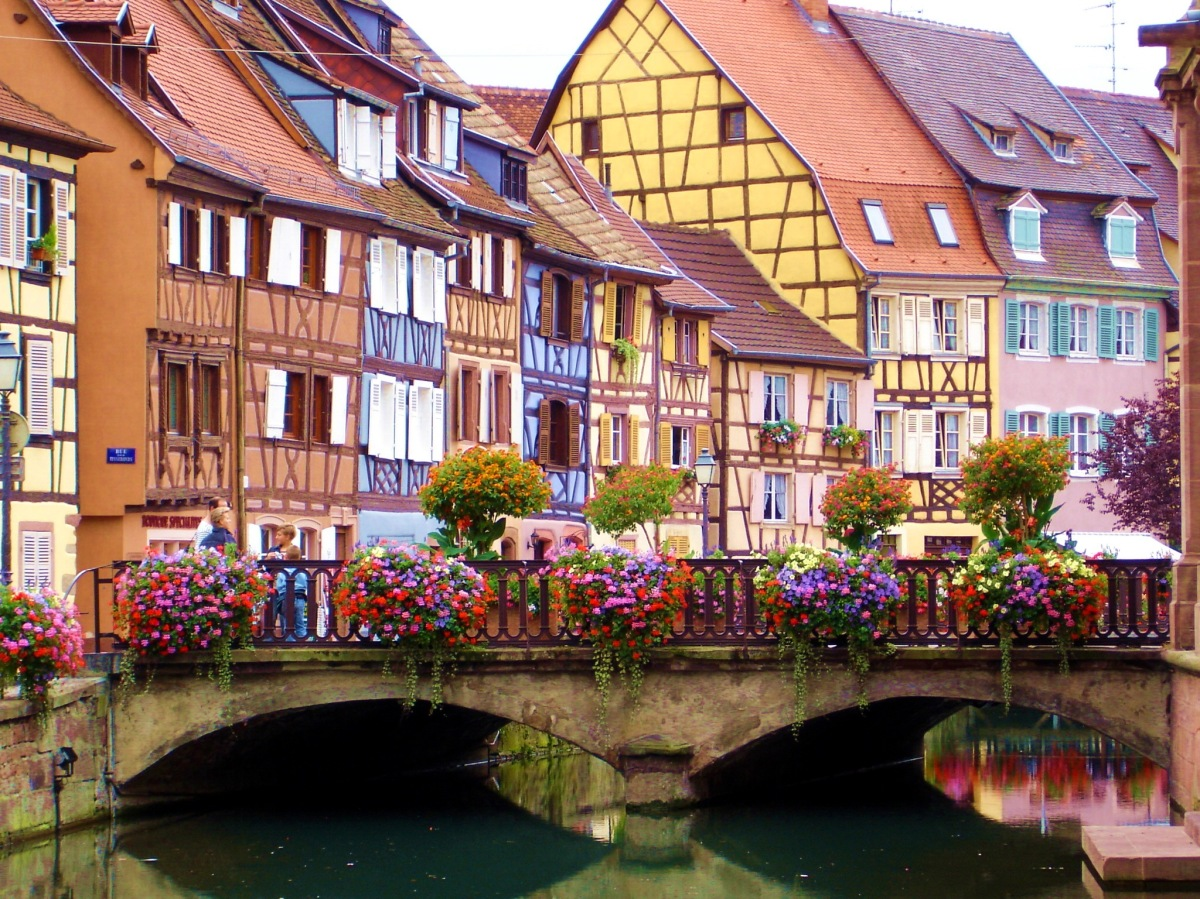 Escapada romántica a Colmar, un pueblo de cuento