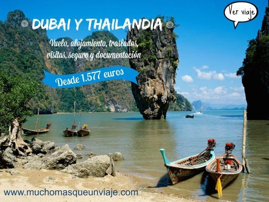 viaje a Tailandia y Dubai