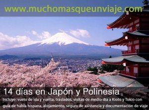 Luna de miel Japón y Polinesia