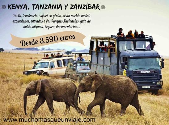 Safari en Kenya