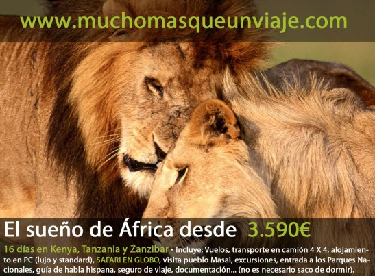 viaje organizado a ÁFrica