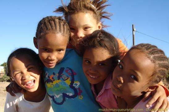 visita poblado namibia