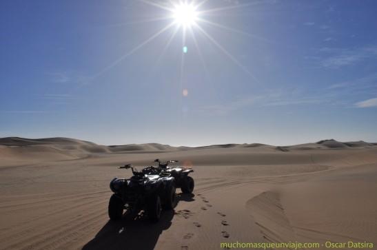 Quan en el desierto
