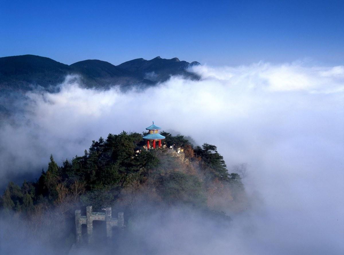 Un monte muy místico en China: el monte Lushan
