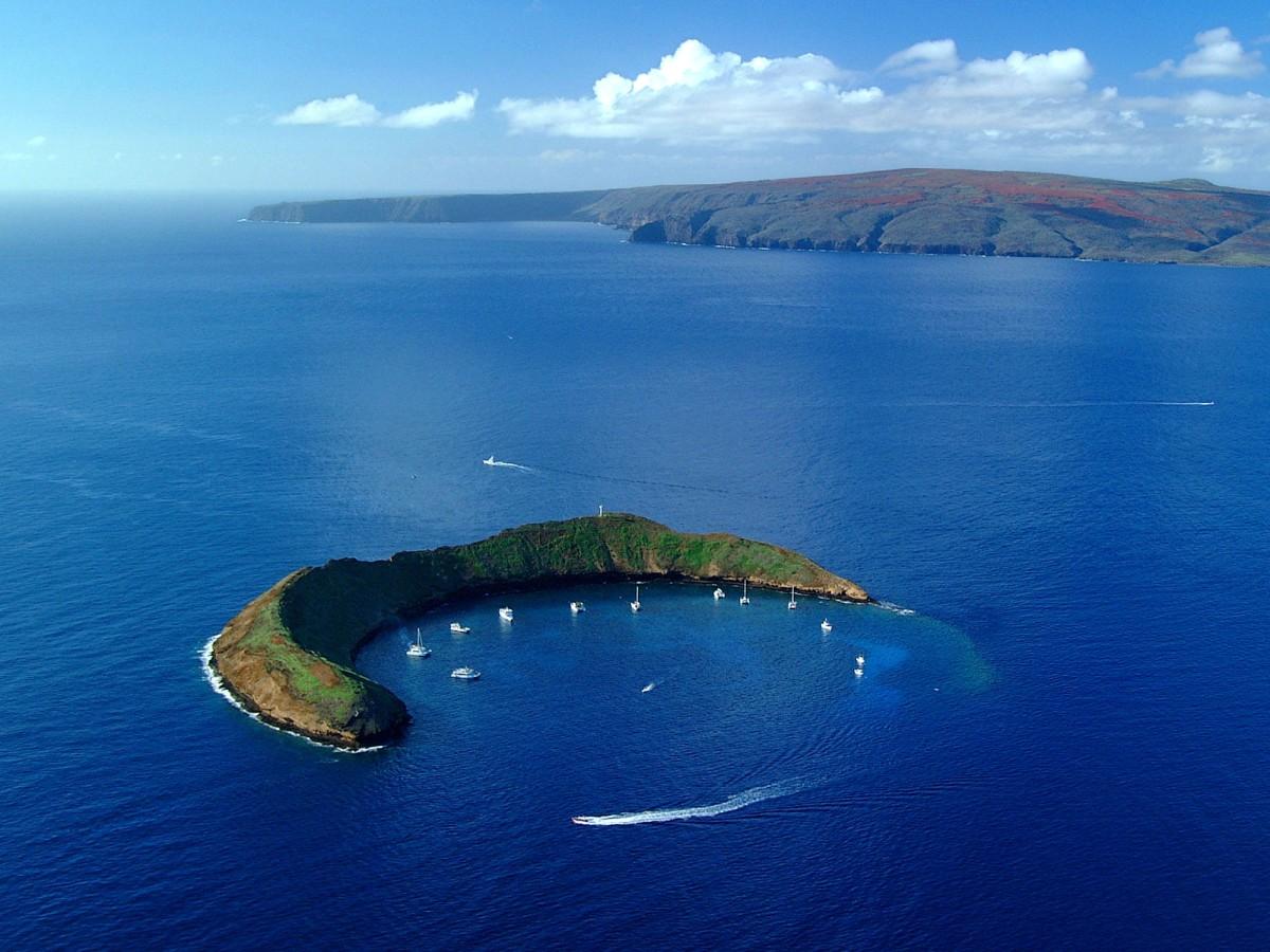 Una Isla con forma de media luna: Isla Molokini
