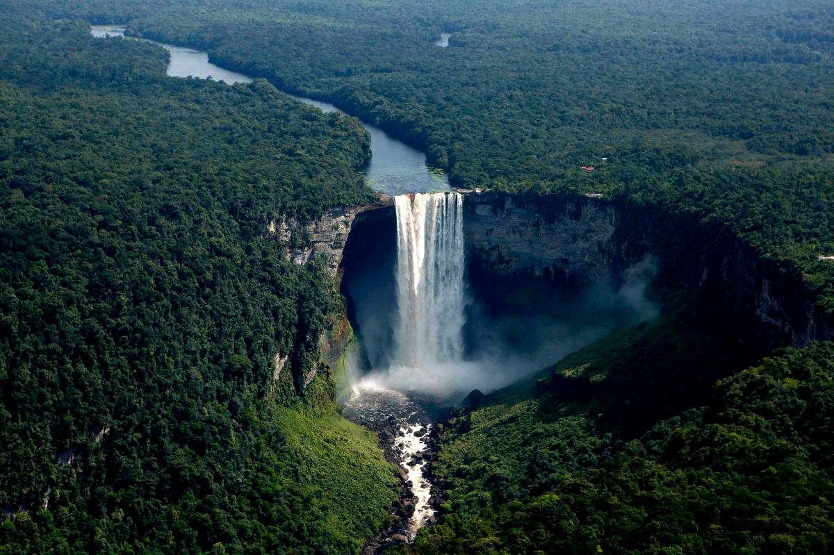 Una maravilla desconocida, las cataratas Kaieteur